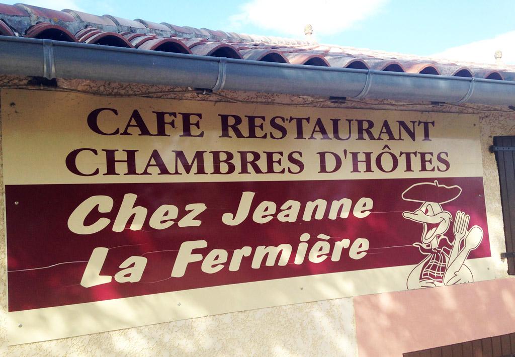 Restaurant Chez Jeanne  Ef Bf Bd Riolas