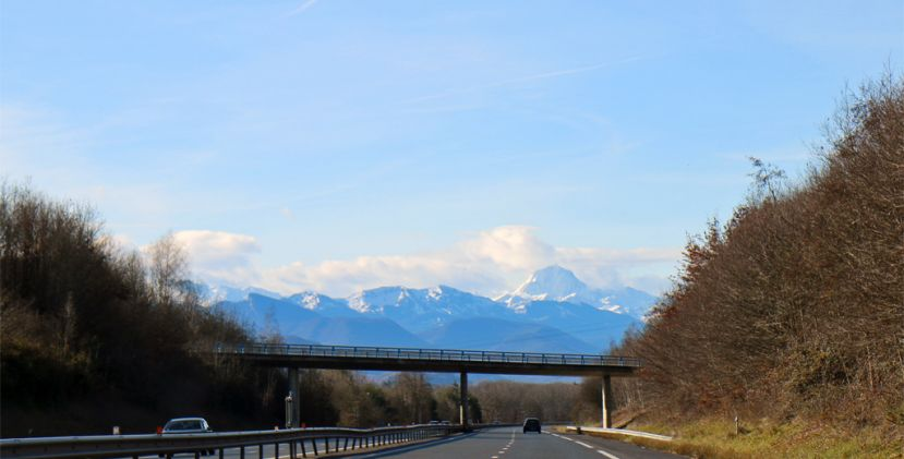 I want to go skiing from toulouse!
