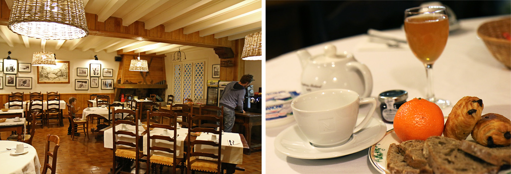Petit déjeuner Hôtel Mir