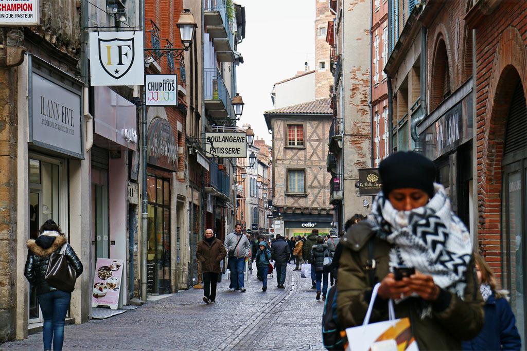 Balade à Toulouse, tout à pied c'est possible !