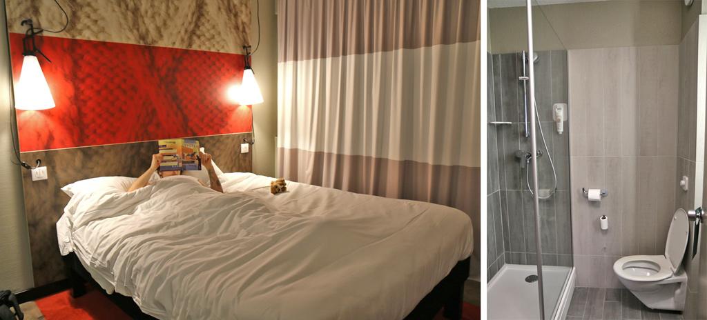 Les chambres confortables de l'hôtel IBIS Purpan