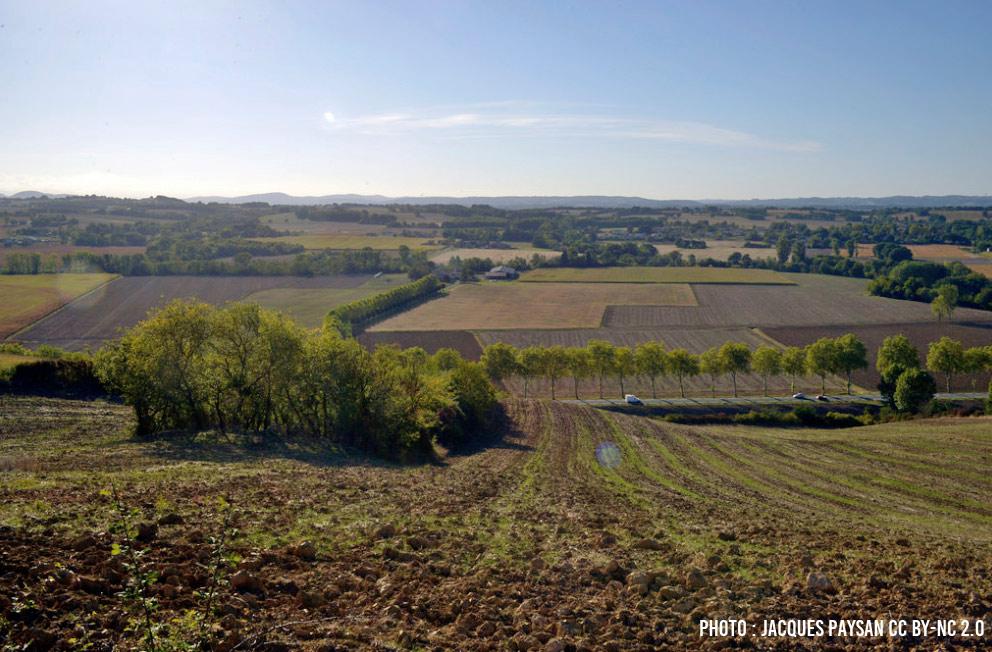 Montesquieu-Volvestre paysages