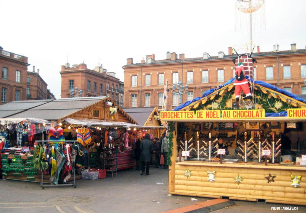 Le marché de Toulouse