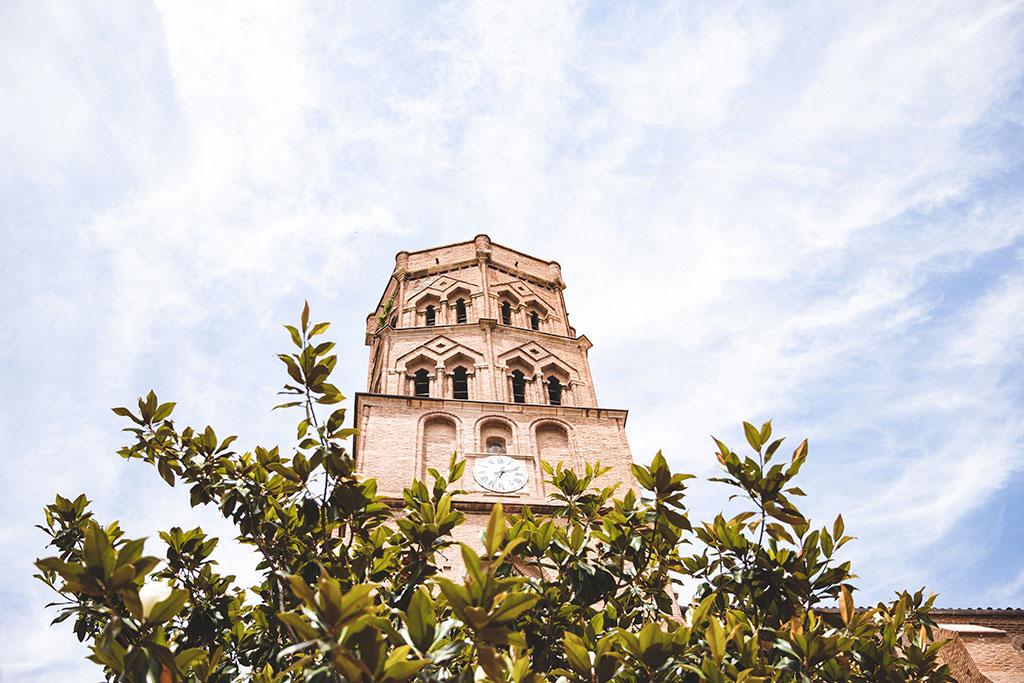 L'église Saint-Nicolas domine ce quartier de Toulouse
