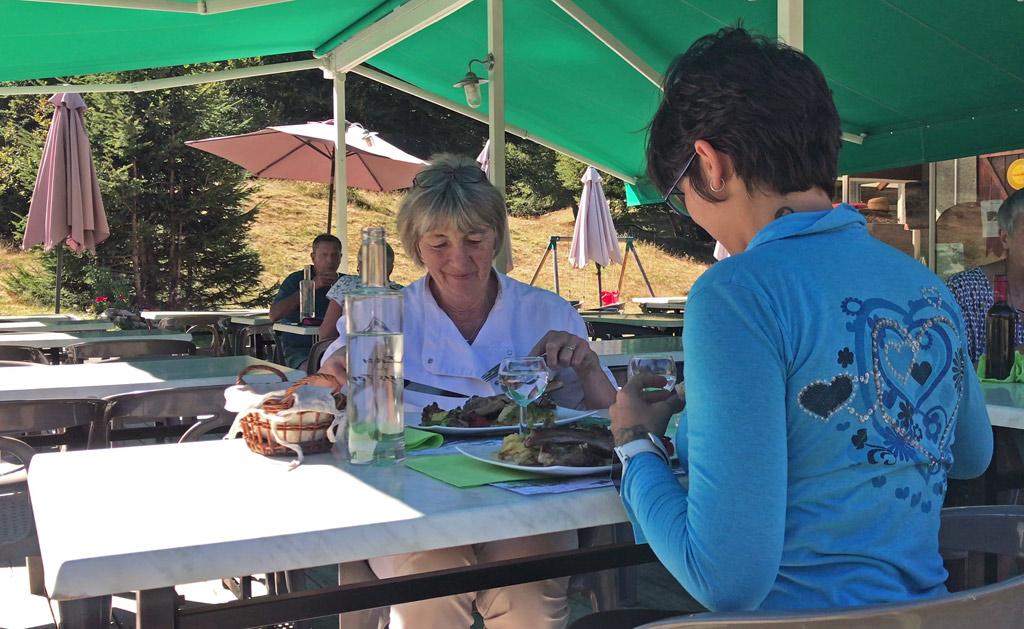 Déjeuner avec Louisette
