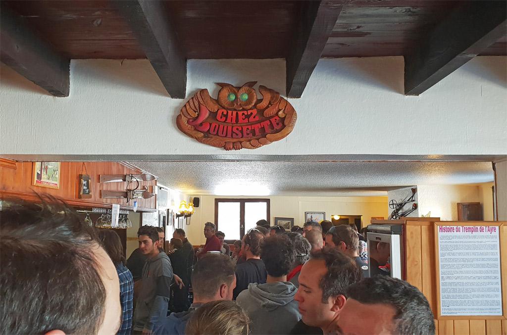 Commande au bar
