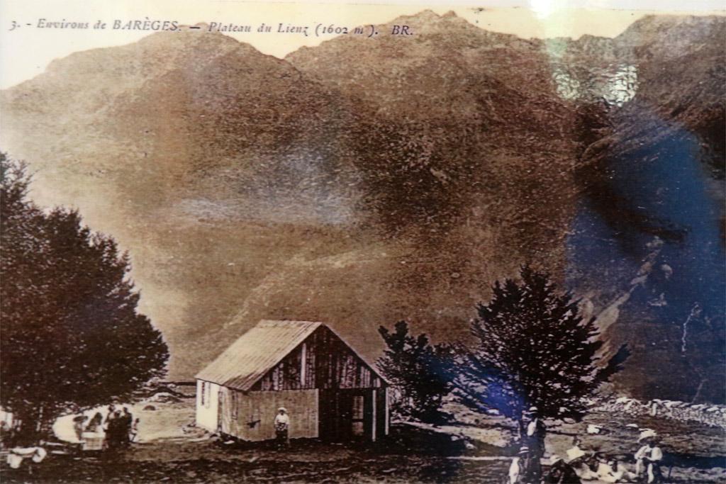 CHez Louisette en 1905