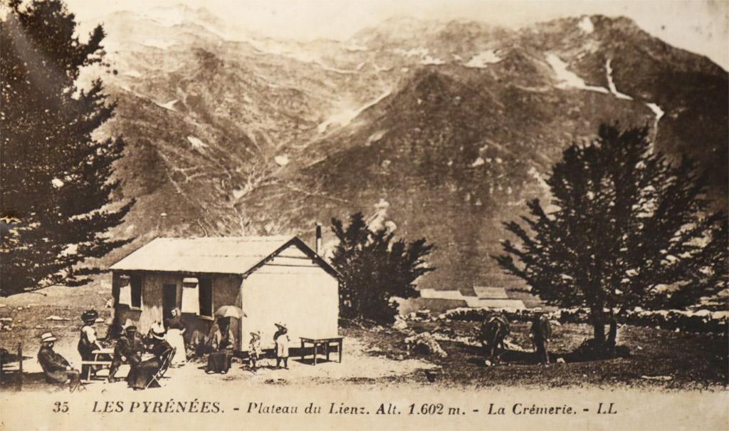 Auberge du Lienz en 1905