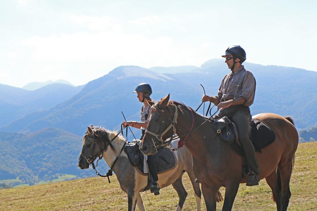 faire du cheval dans les pyrénées