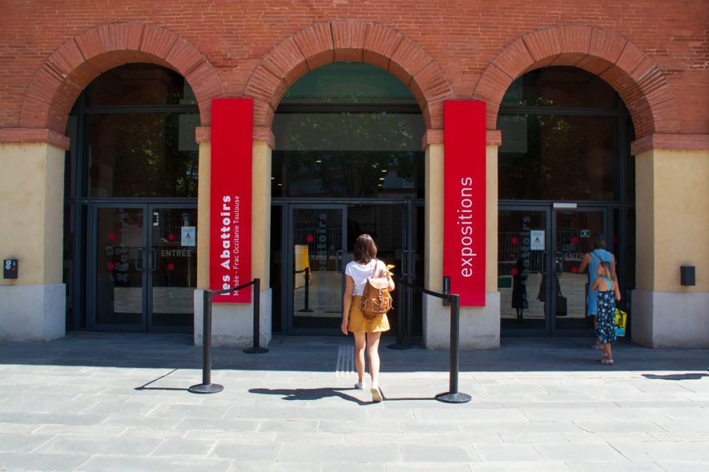 Entrée musée des abattoirs