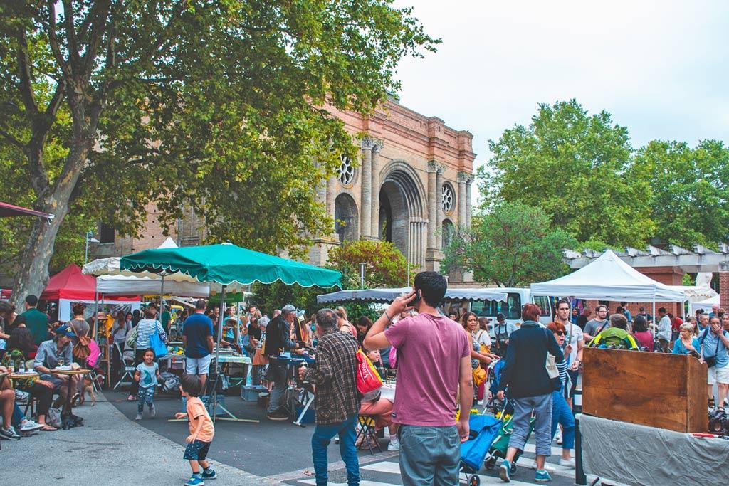 marché de saint aubin