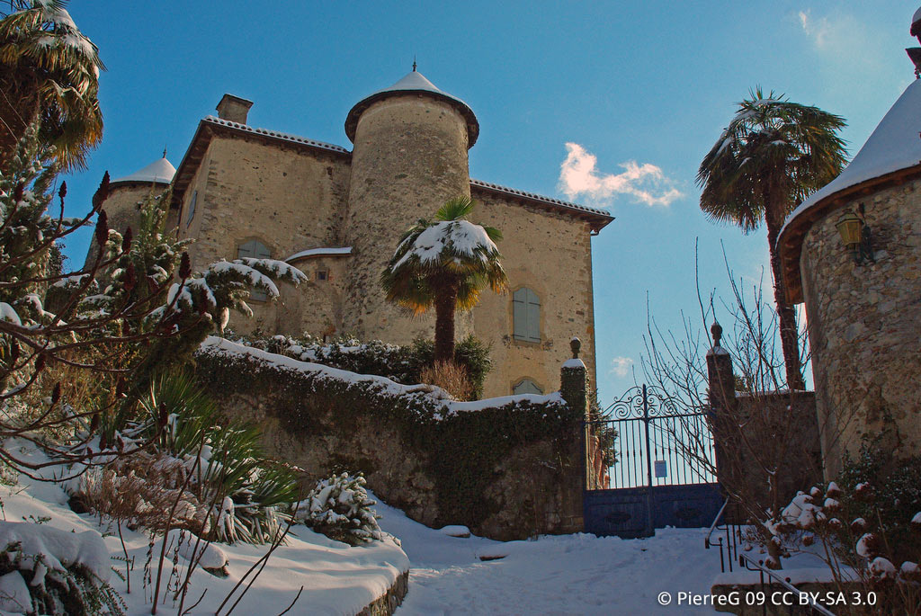 Le Chateau de Seix, dans la ville de Seix
