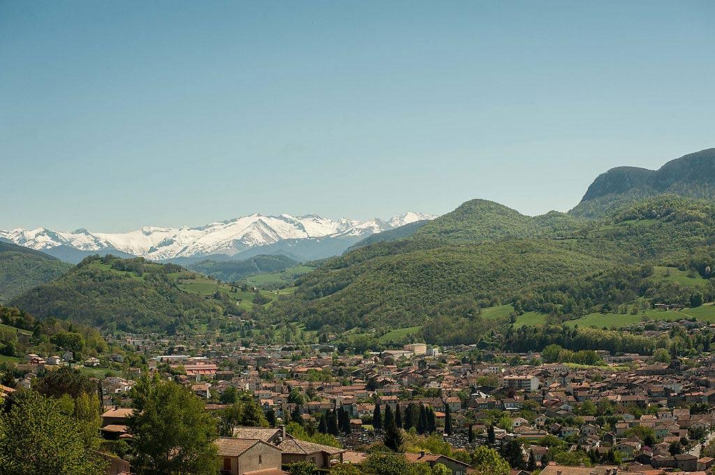 La ville de Saint-Girons