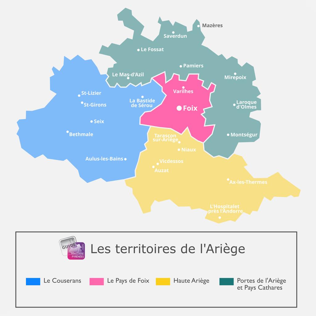 Ariège - Pays de Foixis - Guide Toulouse Pyrénées
