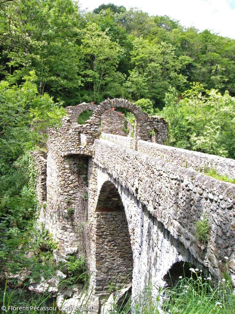 Le Pont du Diable à Montoulieu