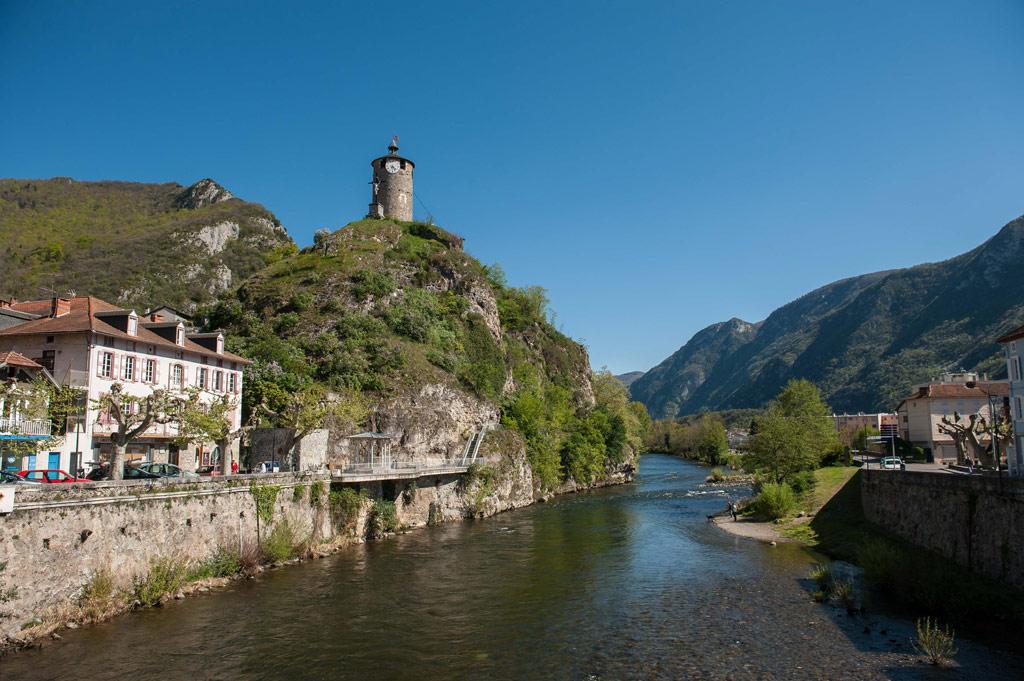 La ville de Tarascon-sur-Ariège