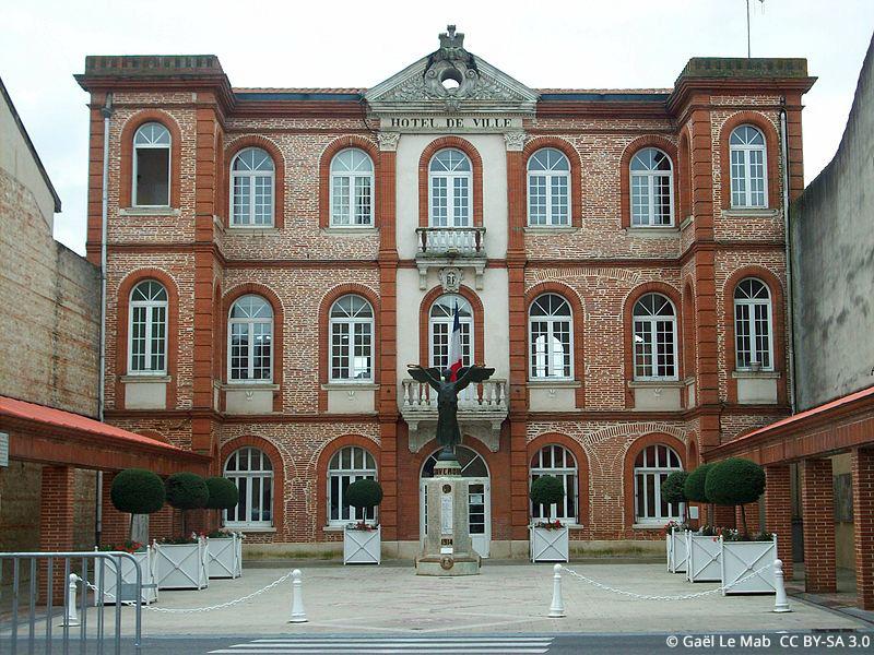 La Mairie de Saverdun